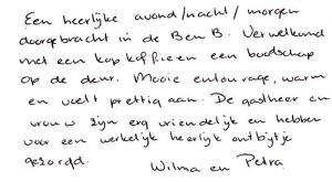 Petra en Wilma, Groningen / Leek, oktober 2015