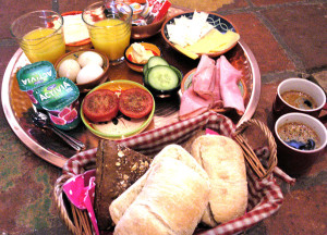 ontbijten in Pieterburen